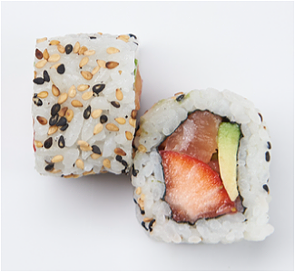 Foto Strawberry Salmon Roll (8st)