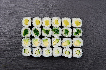 Foto Vegetarian Maki Mix (24st)