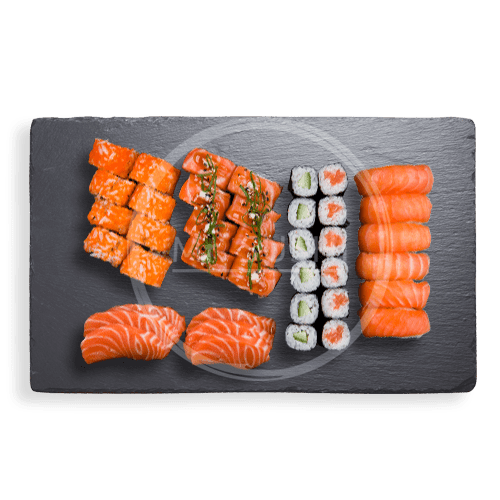 Foto Salmon Lovers Box (40st)
