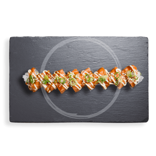 Foto Softshell Salmon Roll (8st)